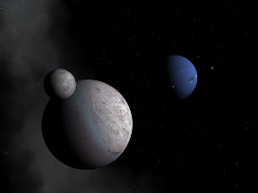 Neptune, Triton and Binary Companion